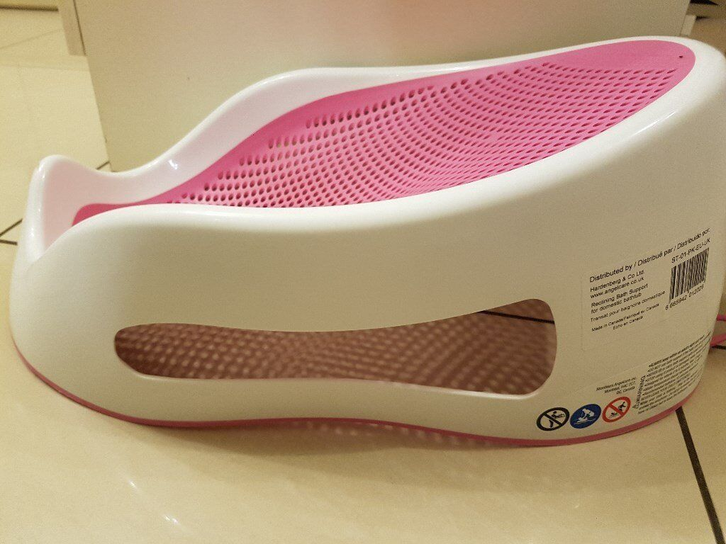 Angelcare support bath pink - Angelcare Soft Touch Bath Support Pink Image 1 Of 3