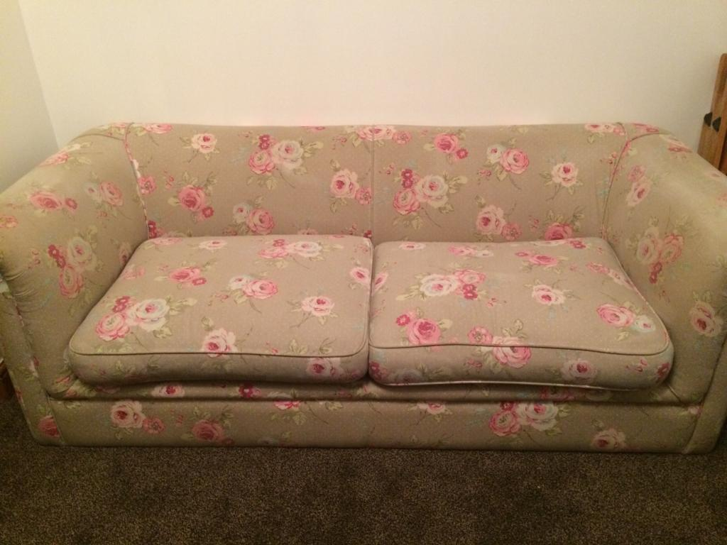 Cheap 3 Seater Floral Sofa For Sale!! £100