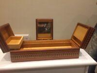 Beautiful Antique Hand Calved Jewellery Box