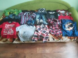 Bundle of boys clothes 6-8 years 19 items