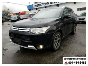 2015 Mitsubishi Outlander GT NAVI; Local & No accidents