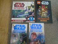 4 x Star Wars Books all good condition