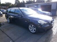 ** NEWTON CARS ** 05 BMW 525D SE TOURING, 95,000 MLS, FSH, ALLOYS, MOT JUL 2018, P/EX POSS, CALL