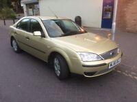 2006 Ford Mondeo 1.8 LX 85000 miles