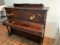 FREE - Upright piano and stool - collection only