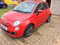 Fiat 500 S 2013 1.2 petrol 21k miles Bluetooth Aircon