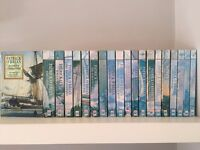 Complete 20 book set by Patrick O'Brian - Master and Commander