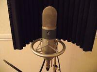 condenser microphone valve