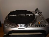 KAM DDX2000 direct drive, 3 speed turntable