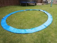 Trampoline 12 foot new Spring Cover in Blue