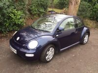 VW beetle, 96k miles, 1 years MOT, 2 owners