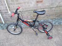Hot Wheels bike