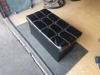 Black Pop Up Storage Box
