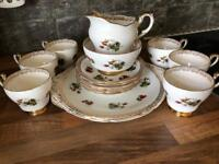 Vintage Paragon Bone China Tea Set 1968
