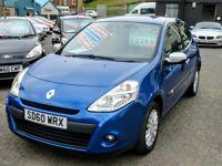 10/60 Renault Clio 1.2 iMusic 3dr, Metallic Blue.**12m MOT, FSH, New Timing Belt, 2 Owners, 2 Keys**