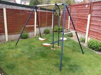 Childs Garden Swing and Seesaw Combined