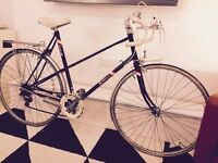 Raleigh vintage ladies racer racing bike