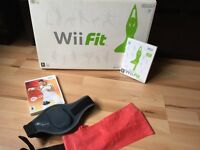 Wii fit board and wii active games included and accessories