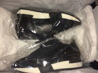 Balenciaga Runners Trainers Black And White - Size 4 / 37 - Brand New In Box
