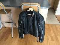Dainese SF Leather Jacket + Back protection - Men - Size 54