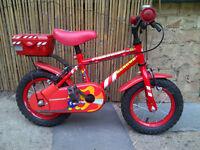 Children's Bicycle Firechief Rescue 3-5yo