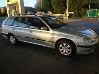 1 owner 2003 peugeot 406 2.0 hdi diesel estate with full service history+long mot+tax+FREE DELIVERY