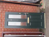 Dark Green Composite Door. Comes with no Casing or key.