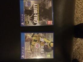 FIFA 17 & CALL OF DUTY INFINITE WARFARE PS4