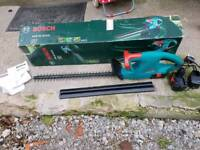 Bosch cordless hedge trimmers