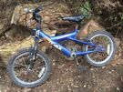 Kids bike - 16 inch wheels (blue) Free to collect