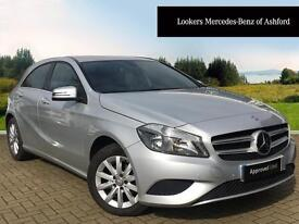 Mercedes-Benz A Class A180 CDI BLUEEFFICIENCY SE (silver) 2014-09-05