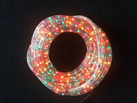 LED Strip Waterproof Lights Rope Multi Colour Xmas Indoor Outdoor 15m LED Tube