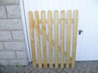 Wooden gate/fence panel - new unused
