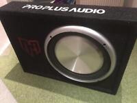 Proplus audio slim active subwoofer