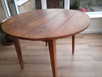 Antique Cherrywood Drop Leaf Table