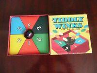 Vintage Spears Tiddlywinks Game