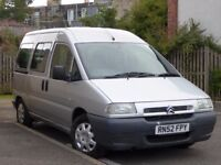 Citroen Dispatch 1.9D: Wheelchair Accessible Vehicle, travel in wheelchair!