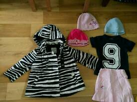 Bundles of clothes for girl various sizes