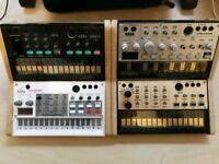 Korg volca collection (sample, keys, bass, fm)