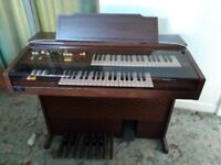 Yamaha Electric Organ Model A-55N. Musical Instrument.