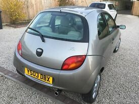 Ford Ka, 3 Door Hatchback, petrol.