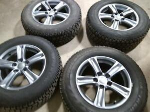 "16"" TOYOTA RAV4 WINTER PACKAGE,5X114.3 ALLOY RIMS WITH 225/70R16 HERCULES AVALANCHE EXTREME WINTER TIRES USED for sale"