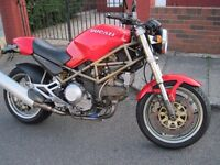 Ducati Monster 900 recent major service with belts and shims
