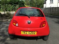 Ford Ka for sale, £1250. MOT'd until May 2017. Recently serviced. Low mileage. Great condition.