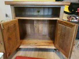 Solid wood Barker and Stonehouse TV unit