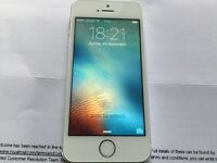 iPhone 5S 16GB SILVER ( O2, Giffgaff And Tesco)