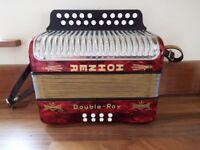 Hohner Double Ray accordion