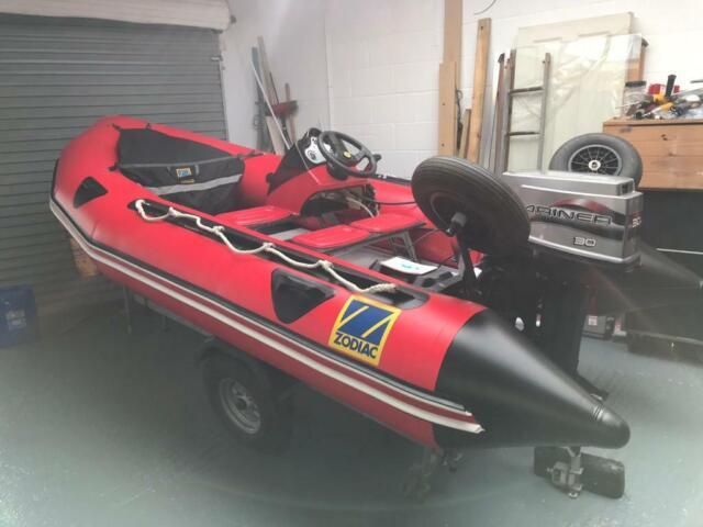 Zodiac Futura S 3 8 m MK 2 C  Not Rib/Speedboat/Fishing Boat | in Exmouth,  Devon | Gumtree