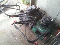 2 x Qualcast Petrol mowers / spares or repair