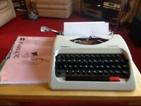 Olympia Traveller Typewriter for the Retro Novelist!